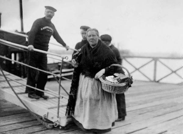 This woman had a license to sell her ware on the Titanic