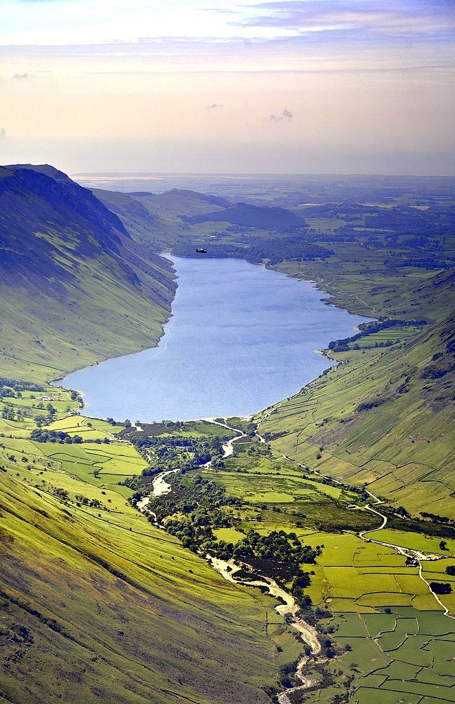 Wasdale from the Great Gable, Cumbria | England (by Tall Guy)