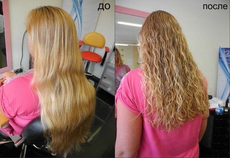 spiral perm before and after | Curly Hair / Perms | Pinterest