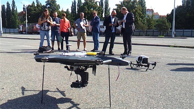 City of Pilsen chose the Robodrone #Kingfisher. We keep our fingers crossed to many happy flights