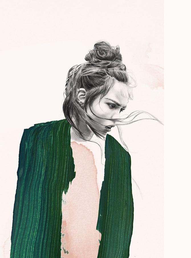 Lucie Birant Illustrator Paris, France STORMY on Behance
