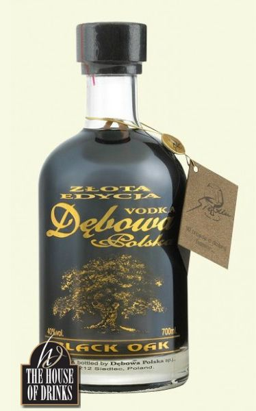 A black vodka from one of Poland's most famous vodka producers. With the individual taste of Debowa vodka infusion with coffee, chocolate and cinnamon. Best served cold and neat.