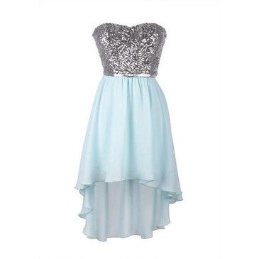 sequin hi low party dress delias  got this for my 8th grade dance