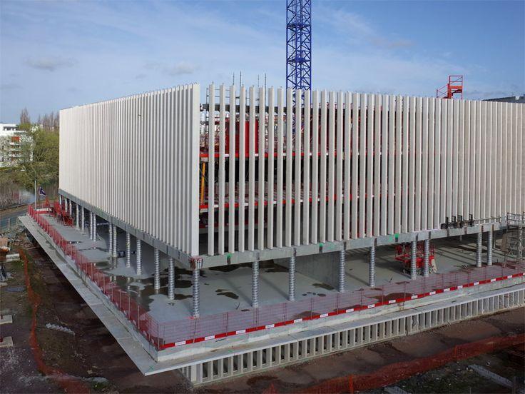 Futur tribunal de grande instance (TGI) de Caen (Calvados-FR)
