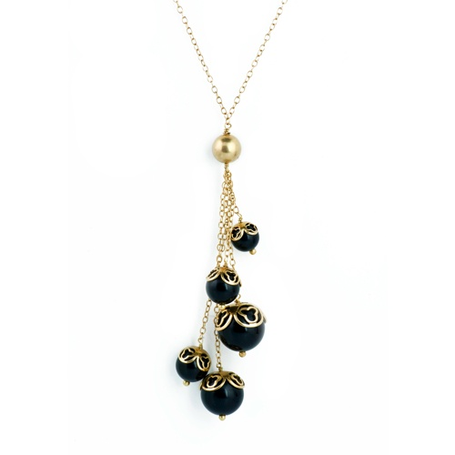 Lucky Cluster Pendant Necklace $30