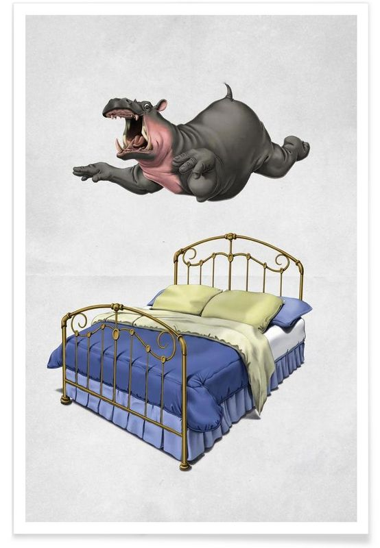Break time - Rob Snow | Creative - Premium Poster art | decor | wall art | inspiration | animal | home decor | ideas | gift