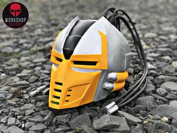 Hey, I found this really awesome Etsy listing at https://www.etsy.com/listing/504526890/cyrax-helmet-from-the-game-mortal-kombat