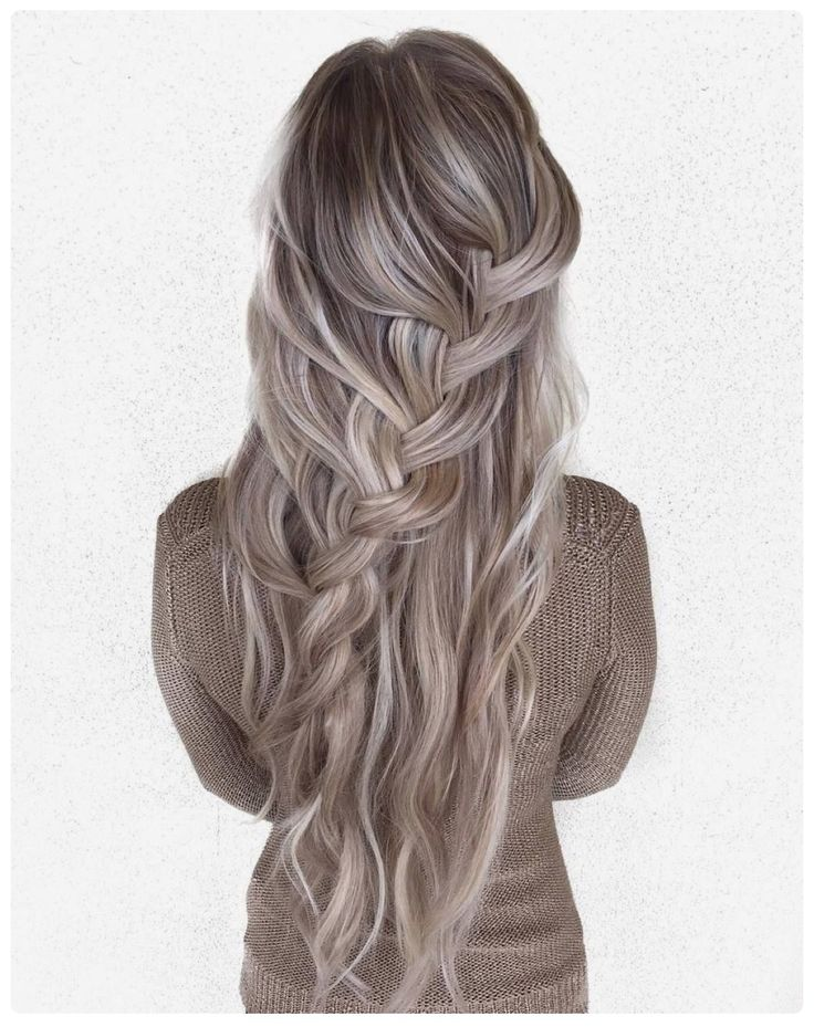 Beautiful blonde and silver hair