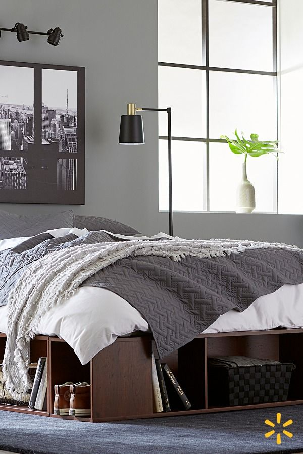Shop For Home Decor At Walmart Com For Less From Decorative Pillows Curtains And Lighting Free Shipping On Orders Over Home Room Design Bedroom Home Decor