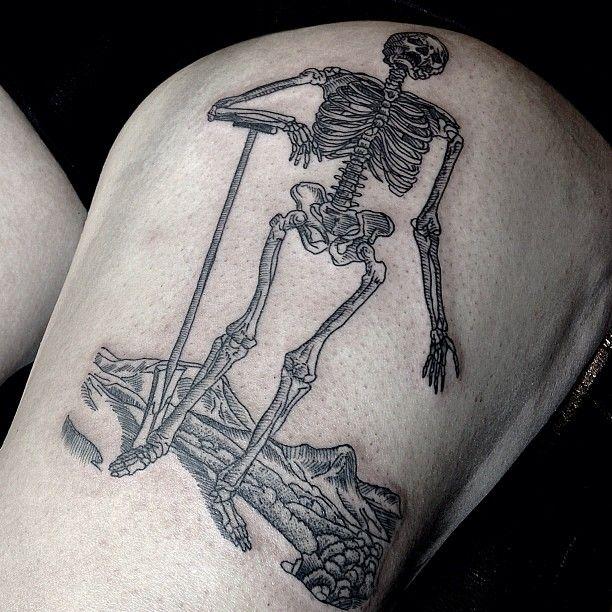 Medieval tattoos..