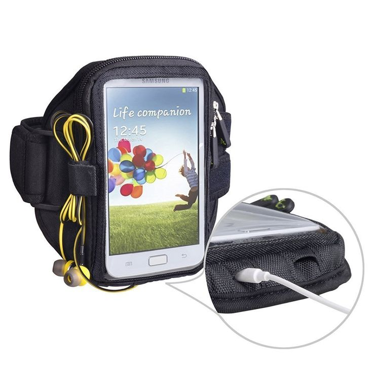KKMO Armband Running Wallet Case Key Pouch Bag for iPhone 6 7 Plus Pro, Samsung Galaxy S6 S7 edge Note 4 5 7 LG G5. This multifunctional sports armband is the smartest, most secure way to keep your phone, keys, cards and other valuables safe when working out. With your comfort in mind, this double-padded sports armband is made with tough yet flexible neoprene fabric. Its patented ergonomic design fits perfectly around your arm and securely holds your earphone cord - so you can exercise to...