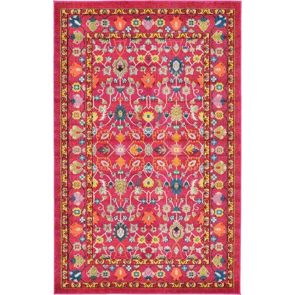 FREE SHIPPING! Shop Joss & Main for your Ali Rug. Features:Construction: Machine madeMaterial: PolypropyleneOrigin: TurkeyCollection: BarcelonaEasy to cleanStain resistantDoes not shedRug has red tonesMachine washable: NoProduct Type: Area RugRug Shape: Distressed: NoCollection: BarcelonaTechniqu...