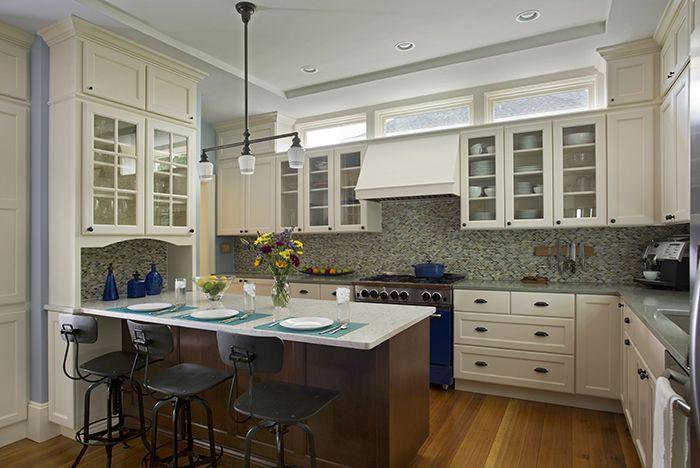 Log Home Kitchen Island Designs