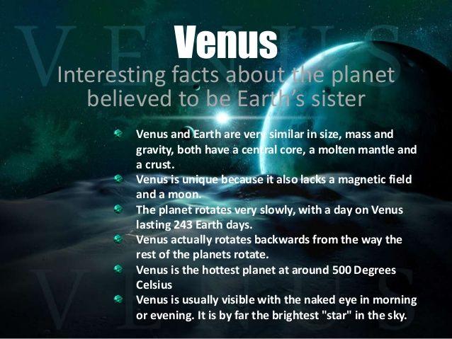 venus planet facts - 638×479