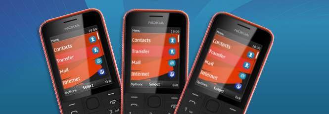 ANokia apresentou dois novos aparelhosde baixo custo projetados para oferecer aos usuários acesso àInternet3G, redes sociais emultimídia. Ou apenas para ser uma segunda opção de telefone, quando quiserem deixar seu smartphone em casa.Os modelos Nokia 207 e 208 são muito parecidos, e a principal