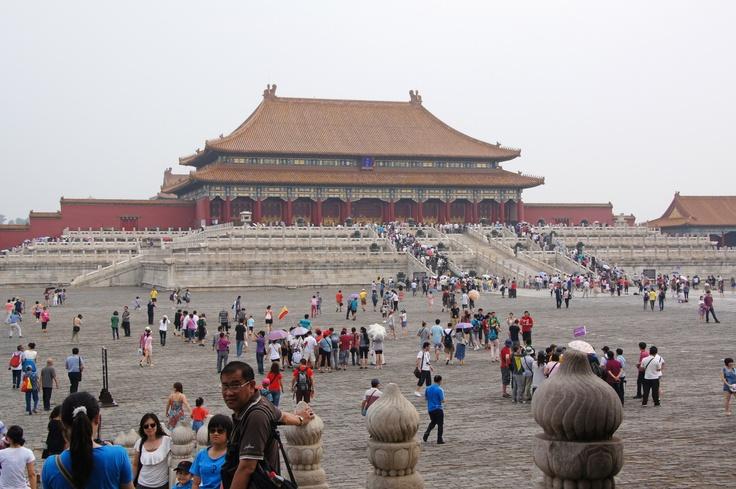 De verboden stad. Beijing, China