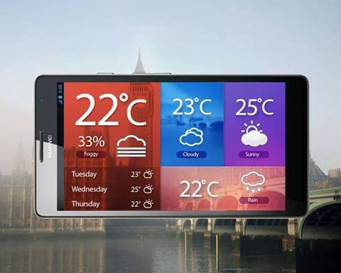 Master the #weather wherever you go with your #Huawei phone. Is it rain or shine in your city?