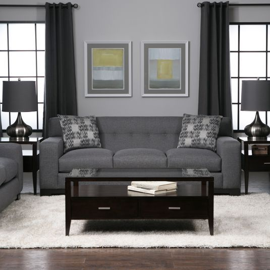 Bliss Living Room Collection   Grey | Jeromeu0027s Furniture