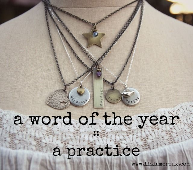 Are you choosing a word of the year? :: On my blog: Some thoughts about choosing a word for the year or not choosing a word.