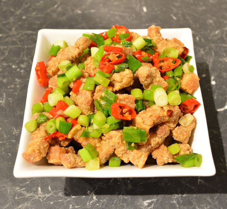 Salt and Pepper Pork. Find the recipe at http://www.whatscookingella.com/blog/salt-and-pepper-pork2