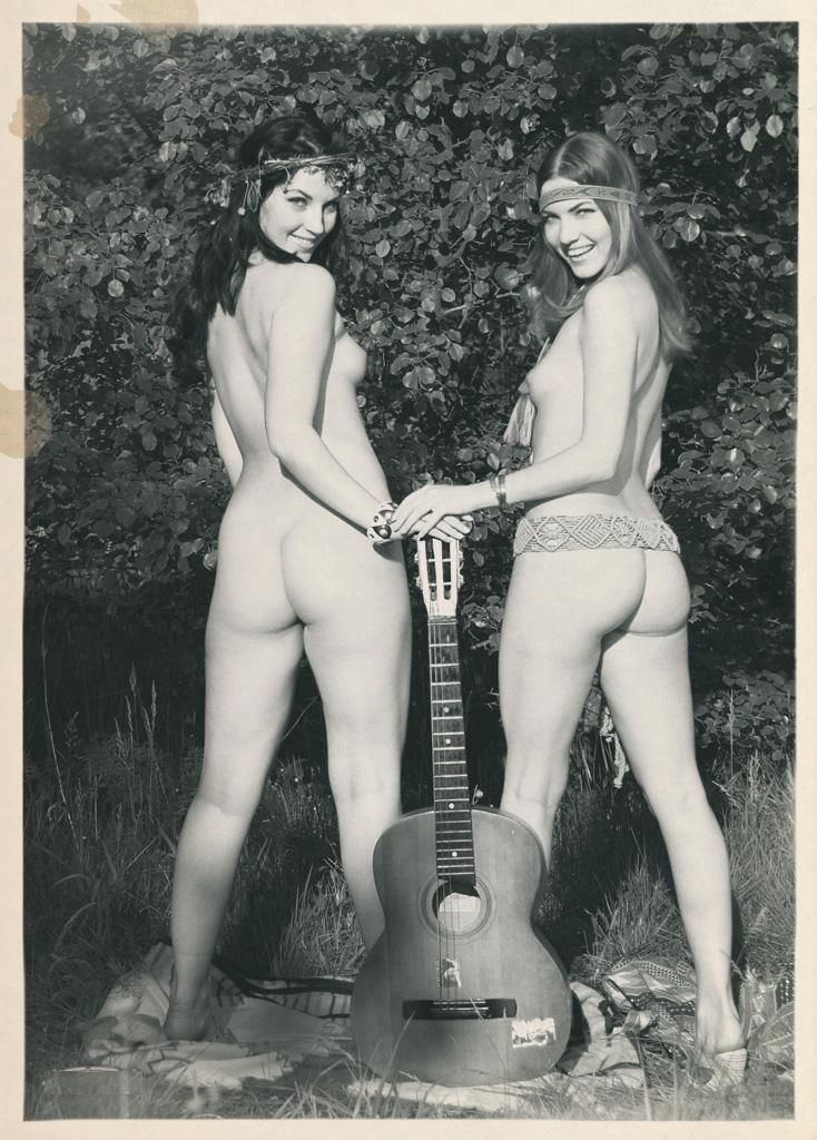 For support. naked women in the 1960 share