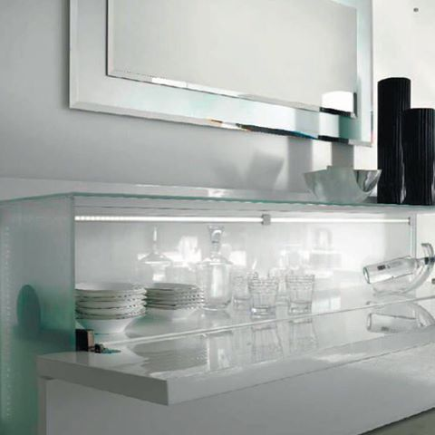 Giano Buffet - the essential cabinet.  #madeinitaly choose from a range of timbers and finishes at www.sovereigninteriors.com.au