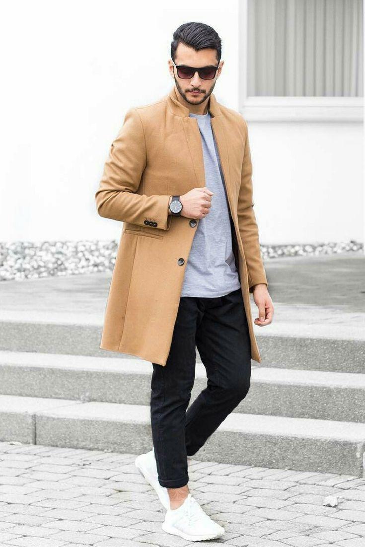 how to wear winter coat for men