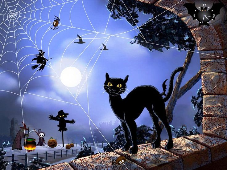 1000 images about halloween screensavers on pinterest - Cool anime screensavers ...