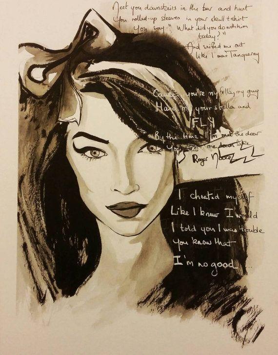 Amy Winehouse / You know I'm not good / art par WildLittleMango  #amywinehouse #amy #amytribute