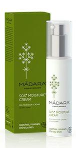 MADARA SOS Moisture Cream Dag en Nachtcreme - ideaal voor de vochtarme huid in de winter!