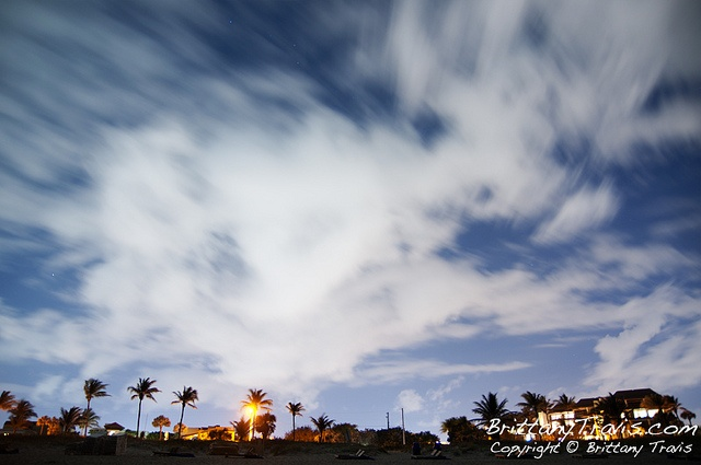 Delray Beach at night by Brittany Travis, via Flickr