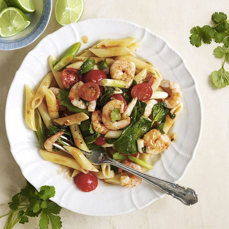 Penne mit Garnelen Rezept | Weight Watchers