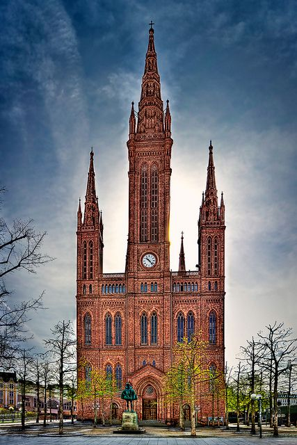 Marktkirche in Wiesbaden, Germany. Another place I would like to visit.