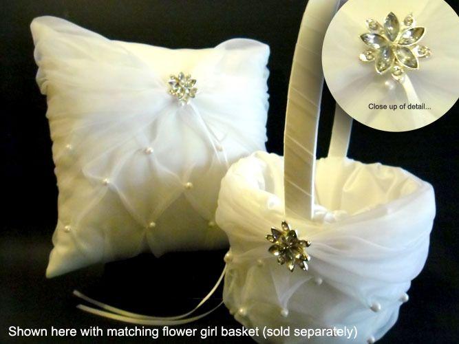 Ring Bearer Pillow - Flower