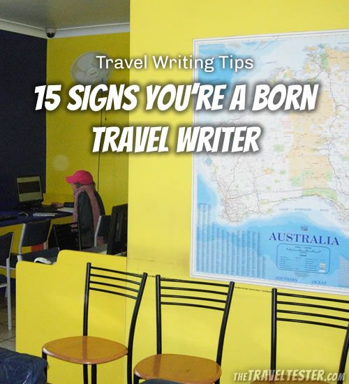 Travel Writing: Travel Writing Tips