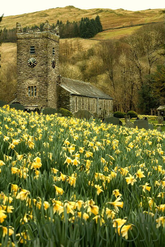 """pagewoman: """"  Church at Troutbeck, Lake District, Cumbria, England by flock of ghosts """""""