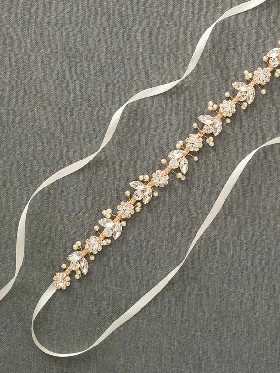 22 Affordable Bridal Belts Sashes