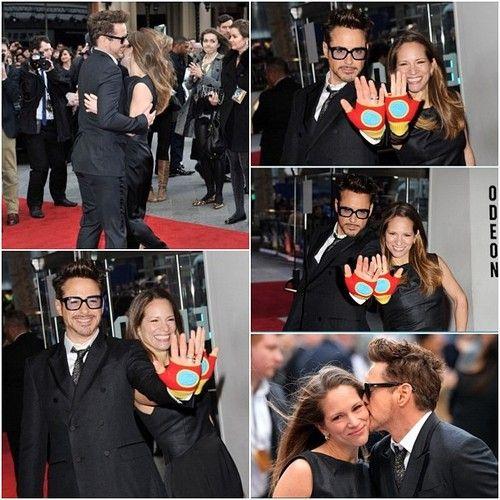 Premier Iron Man 3, Londres
