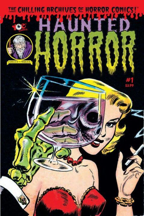 Horror Comic//I'm guessing this is the origin of The Misfits - Die Die My Darling album art//makes sense