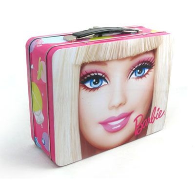 trendy rectangular lunch tin box for cosmetic