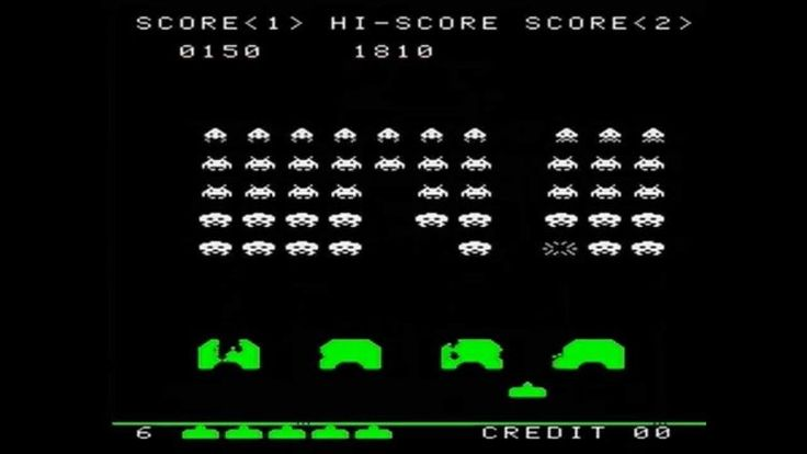 8-space-invaders #retro games