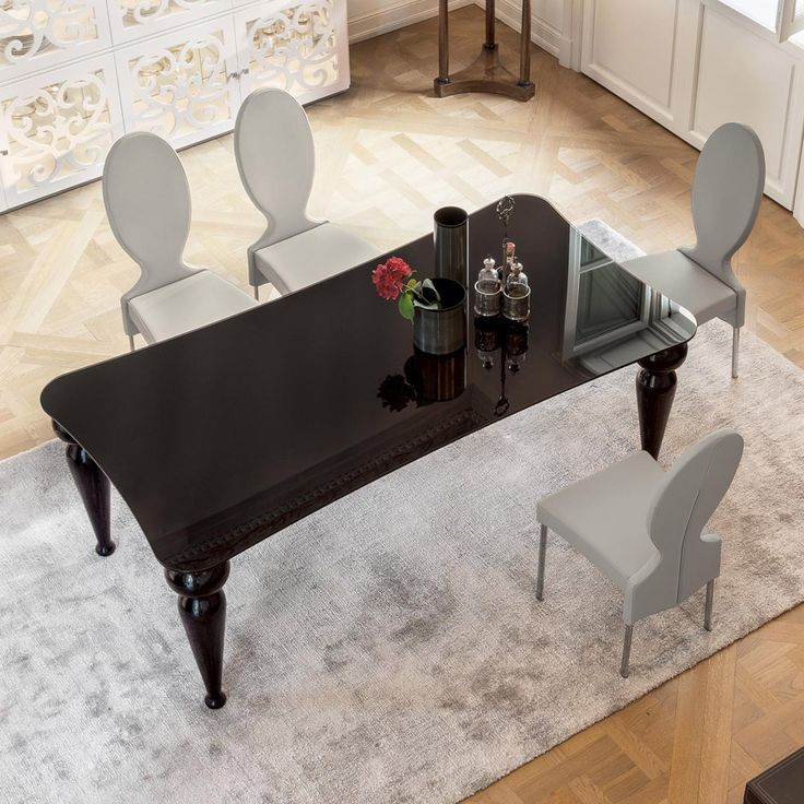 26 best Glass or crystal tables // Tavoli in vetro o cristallo ...