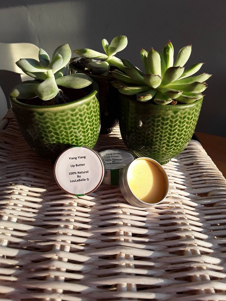 Lip Butter ~ Ylang Ylang Lip Balm ~ 100% Natural Ingredients ~ Handmade by LouLaBelleG on Etsy
