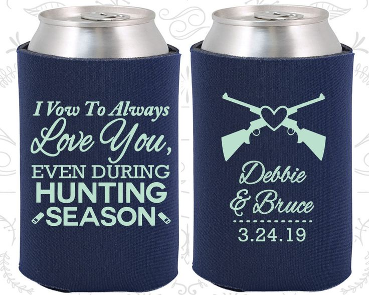 I Vow To Always Love You Even During Hunting Season Wedding Decoration