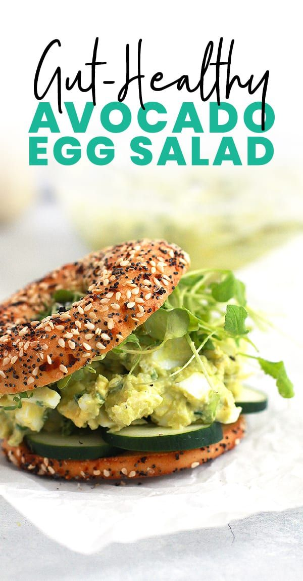 Instead of using mayonnaise, we are swapping for avocado in this yummy egg salad recipe. This gut-healthy avocado egg sa…