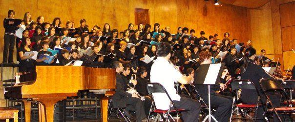 Coro Institucional Escuelade música - FOSJC