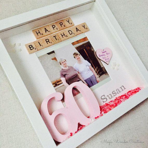Regalo de cumpleaños feliz feliz cumpleaños marco