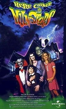 Here Come the Munsters is a television film that aired on Fox October 31, 1995. It starred Edward Herrmann, Christine Taylor and Veronica Hamel. It included cameos from original Munsters surviving cast members Yvonne De Carlo, Al Lewis, Butch Patrick, and Pat Priest. The film told the story of the Munster family's arrival in America from Transylvania.
