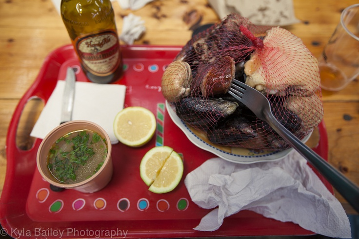 Mapuche food called Pullmay. Various types of shellfish, fish, red and white meat with a yummy broth! In a traditional market in Valdivia, Chile.