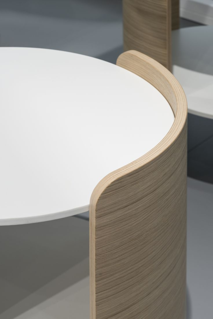 Mix wood with matte for a unique modern design mixed with traditional.   FENIX NTM matte surfaces in Bianco Alaska